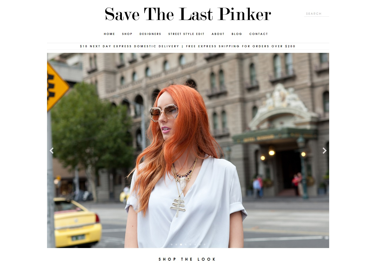SAVE THE LAST PINKER X STREET SMITH
